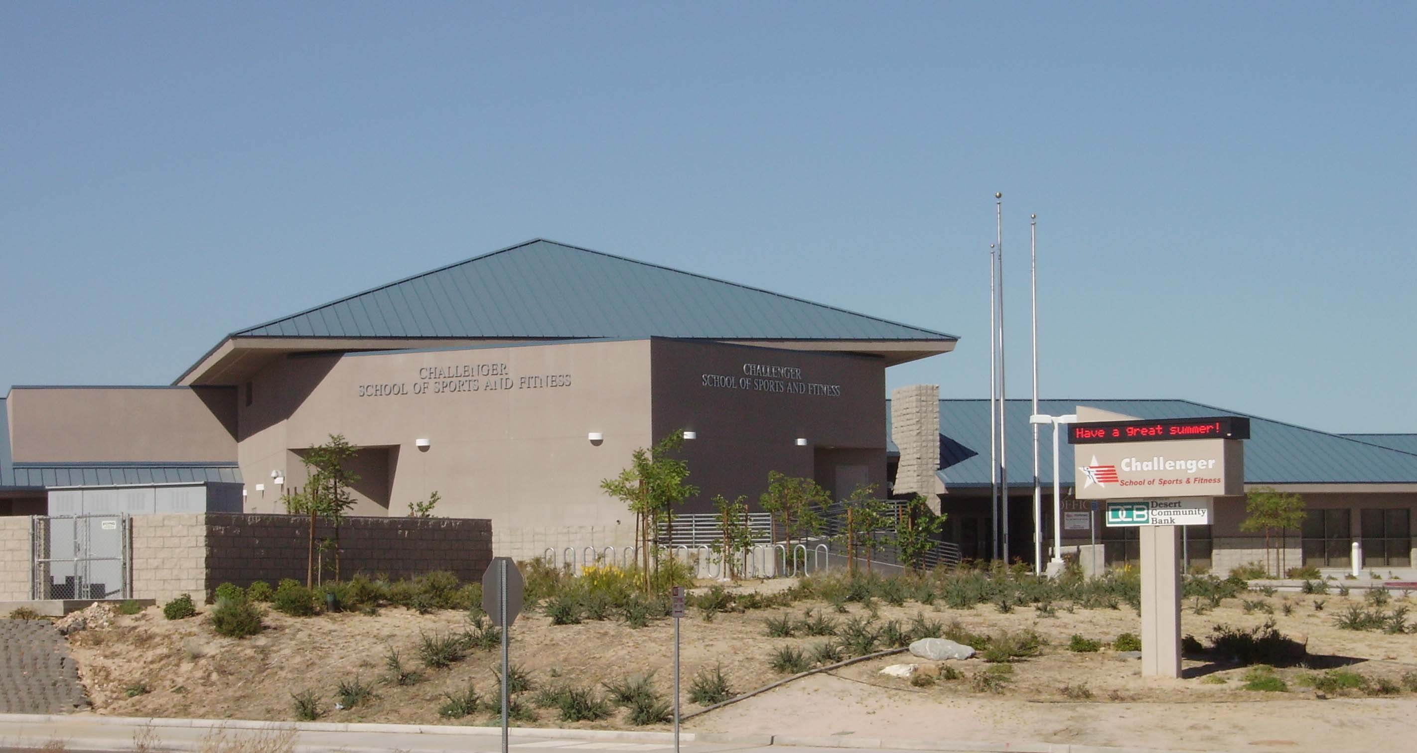 Government Challenger School Of Sports And Fitness Victorville Ca